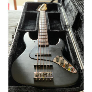 イーエスピー(ESP)の90年代初期ESP J-Five×魔改造フルカスタム ダンカン製ピックアップ(エレキベース)