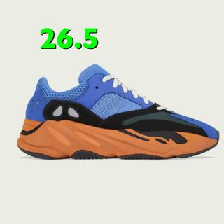 アディダス(adidas)のADIDAS YEEZY BOOST 700 BRIGHT BLUE (スニーカー)