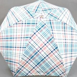 ラルフローレン(Ralph Lauren)のラルフローレン ピンク×マルチ チェック柄(傘)