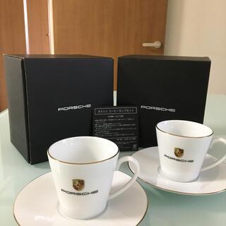 Porsche - 【正規品】PORSCHE  ポルシェ 純正コーヒーカップ 2客セット
