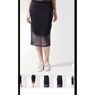 アディダス(adidas)のadidas originals アディダス オリジナルス スカート Sサイズ(ひざ丈スカート)