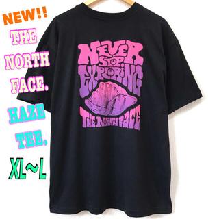 ザノースフェイス(THE NORTH FACE)のビッグシルエット ♪ ノースフェイス HAZE Tシャツ 黒 XL ~ L(Tシャツ/カットソー(半袖/袖なし))