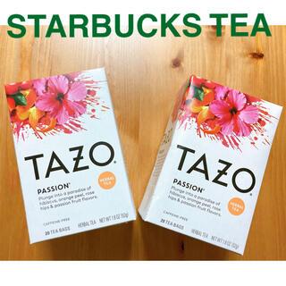 【新品】スタバ紅茶 TAZO tea パッションティー 送料込み(茶)