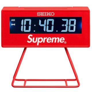 シュプリーム(Supreme)の送料込! Supreme Seiko Marathon Clock(置時計)