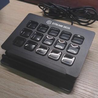 stream deck 3x5 美品(PC周辺機器)