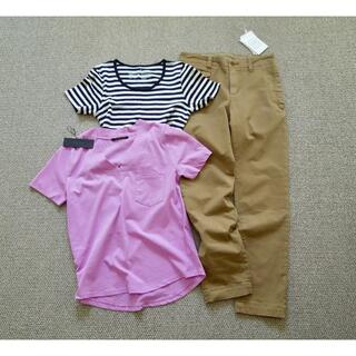 バンヤードストーム(BARNYARDSTORM)の春夏物/バンヤード・ル シェル ド ハリス・ユニクロ/Tシャツ&パンツSET(Tシャツ(半袖/袖なし))