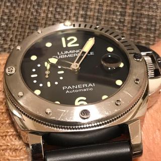 オフィチーネパネライ(OFFICINE PANERAI)のパネライサブマーシブルPam01024 ジャンク品(腕時計(アナログ))
