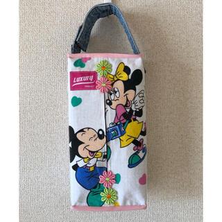 ディズニー(Disney)のティッシュBOXカバー ミキミニ(インテリア雑貨)