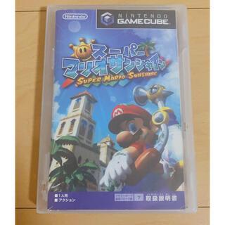 ニンテンドーゲームキューブ(ニンテンドーゲームキューブ)のスーパーマリオサンシャイン ゲームキューブソフト(家庭用ゲームソフト)