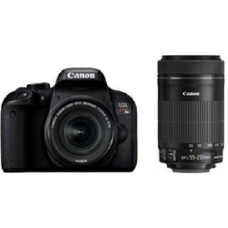 キヤノン(Canon)の【新品未使用】Canon EOS kiss x9i ダブルズームキット2台(デジタル一眼)