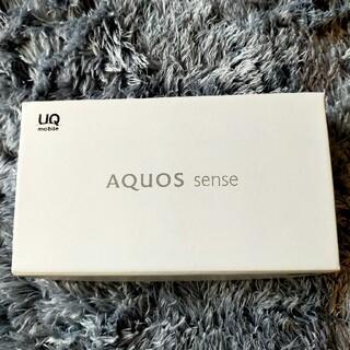 アクオス(AQUOS)のAQUOS SENSE UQモバイル(スマートフォン本体)