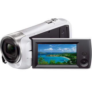 SONY - SONY HDR-CX470 W ハンディカム ビデオカメラ