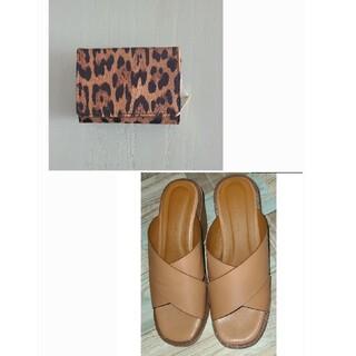 アズールバイマウジー(AZUL by moussy)のアズールバイマウジー ミニ財布&サンダル セット(財布)