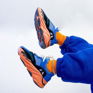 """アディダス(adidas)のadidas Yeezy Boost 700 """"Bright Blue""""27.5(スニーカー)"""