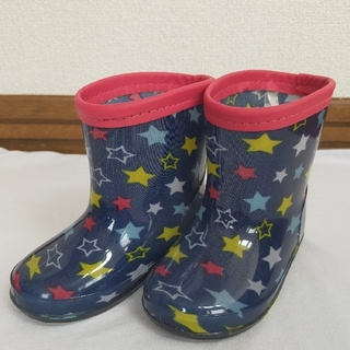 西松屋 - 西松屋 長靴 星柄 13cm