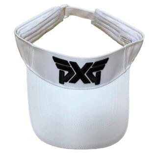 【新品】PXG サンバイザー  キャップ 帽子 ゴルフキャップ 白(キャップ)