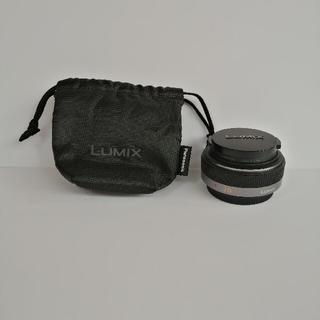 パナソニック(Panasonic)のパナソニック LUMIX 20mm/F1.7 H-H020(レンズ(単焦点))