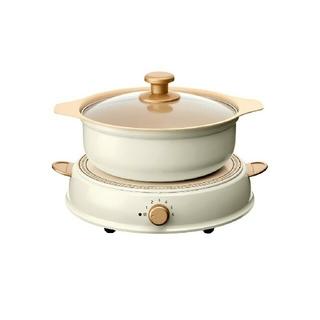 アイリスオーヤマ - アイリスオーヤマ リコパ IHLP-R14-C IH調理鍋セット 新品 パーティ