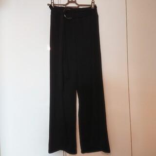 NAVANA ロングパンツ 黒パンツ ブラック ルームウェア 部屋着 ゆったり(ルームウェア)