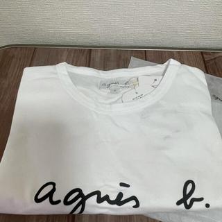 アニエスベー(agnes b.)の【Agnes b】アニエスベー★Tシャツ・Mサイズ★レディース★ホワイト(Tシャツ(半袖/袖なし))