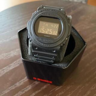 ジーショック(G-SHOCK)のカシオ G-SHOCK DW5750E ブラック (腕時計(デジタル))