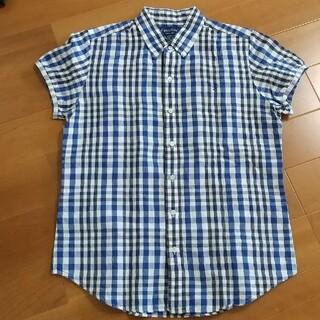 ジムフレックス(GYMPHLEX)の美品 16 ジムフレックス コットンリネン シャツ(シャツ/ブラウス(半袖/袖なし))