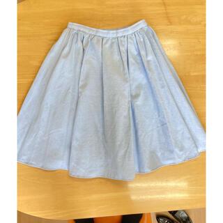 ラグナムーン(LagunaMoon)のラグナムーン フレアスカート(ひざ丈スカート)