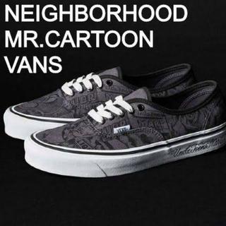 ネイバーフッド(NEIGHBORHOOD)のキムタク 私物 ネイバーフッド mr.cartoon vans 27cm(スニーカー)