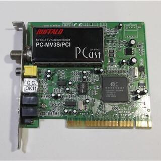 バッファロー(Buffalo)のキャプチャーボード「PC-MV3S/PCI」動作品【送料込】(PCパーツ)