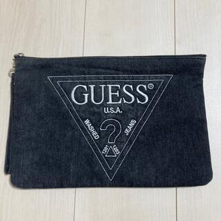 ゲス(GUESS)のGUESS クラッチバッグ(クラッチバッグ)