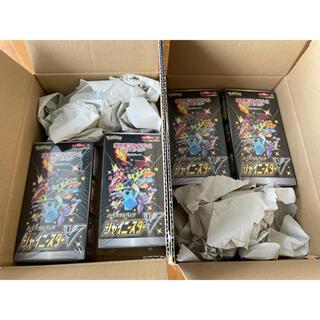 ポケモン(ポケモン)のシャイニースターv BOX 新品未開封 シュリンク付 ポケモンカード 4BOX(Box/デッキ/パック)