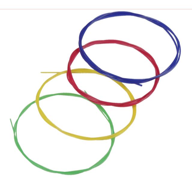 特別価格★ウクレレ カラー 弦 4本セット 楽器のウクレレ(その他)の商品写真