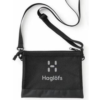 ホグロフス(Haglofs)のBE-PAL付録 ホグロフス haglofs メッシュサコッシュ(ショルダーバッグ)