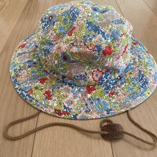 マーキーズ(MARKEY'S)のOcean&Ground  花柄 帽子 54cm(帽子)