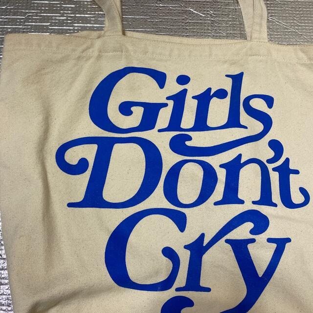 Supreme(シュプリーム)のガールズドントクライ トートバッグ メンズのバッグ(トートバッグ)の商品写真