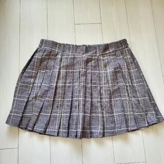 シマムラ(しまむら)の【大きいサイズ】しまむら チェックプリーツスカート タグ付き (ミニスカート)