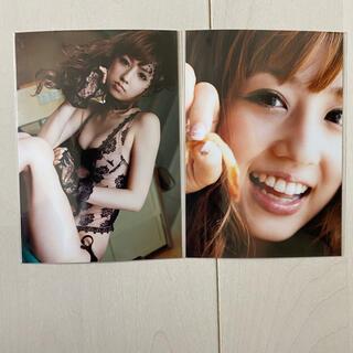 コウダンシャ(講談社)の未開封 小倉優子写真集 幸福論の購入特典 生写真 2枚セット(アイドルグッズ)