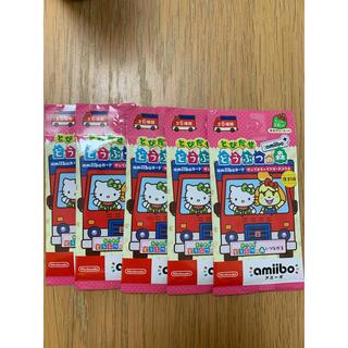 ニンテンドースイッチ(Nintendo Switch)のあつ森 サンリオ amiibo 未開封 5袋(Box/デッキ/パック)
