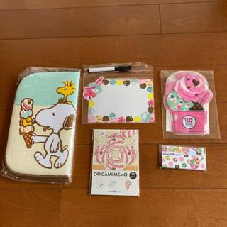 31アイスクリーム スヌーピー   福袋(キャラクターグッズ)