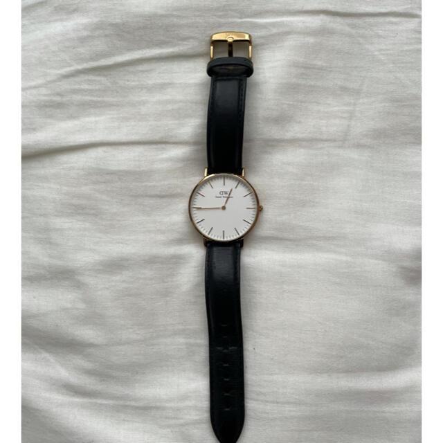 Daniel Wellington(ダニエルウェリントン)のdanielwellington ダニエルウェリントン 腕時計 メンズの時計(レザーベルト)の商品写真