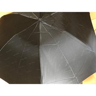 クリスチャンディオール(Christian Dior)のクリスチャンディオール Dior  総柄 折り畳み傘 カサ ブラック 美中古品(傘)