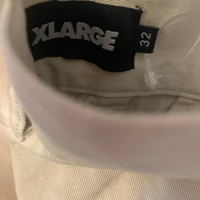 XLARGE(エクストララージ)のXLARGE TUCK CHINO PANTS 32インチ メンズのパンツ(チノパン)の商品写真