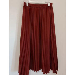 バックナンバー(BACK NUMBER)のロングプリーツスカート(ロングスカート)
