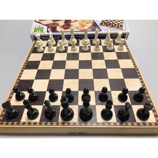 木製チェス エリーゼキャッスル(オセロ/チェス)