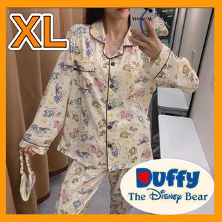 ディズニー(Disney)の新品!ダッフィーフレンズ☆パジャマ☆ルームウェア☆上下セット☆ディズニー☆長袖(パジャマ)