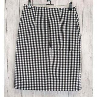 ローズバッド(ROSE BUD)のローズバット 膝丈スカート ギンガムチェック(ひざ丈スカート)