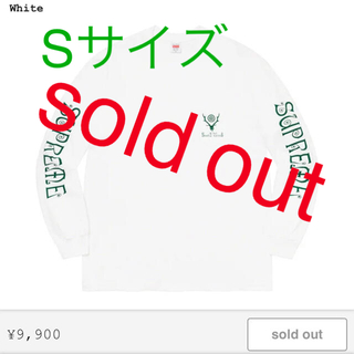 シュプリーム(Supreme)のシュプリーム Sサイズ(Tシャツ/カットソー(七分/長袖))