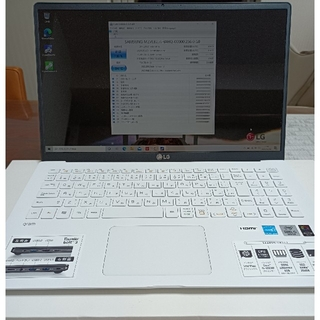 エルジーエレクトロニクス(LG Electronics)のLG gram 15Z90N-VR51J1( L Shop 様専用)(ノートPC)