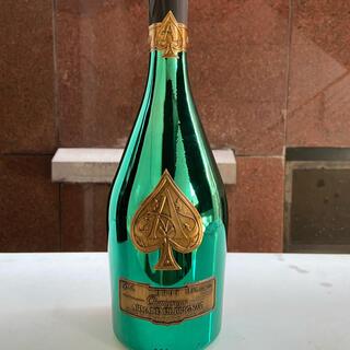 アルマンドバジ(Armand Basi)のアルマンドブリニャックグリーンマスターズエディション箱.専用袋入り750ml(シャンパン/スパークリングワイン)