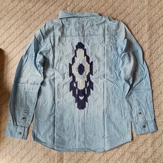 ニーキュウイチニーキュウゴーオム(291295=HOMME)のREQUEST  ネイティブ刺繍 デニムシャツ(シャツ)